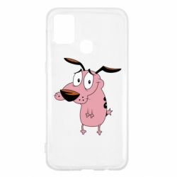 Чохол для Samsung M31 Courage - a cowardly dog