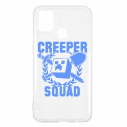 Чохол для Samsung M31 Creeper Squad