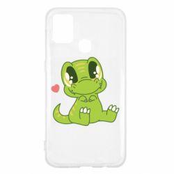 Чохол для Samsung M31 Cute dinosaur