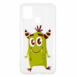 Чохол для Samsung M31 Cute green monster