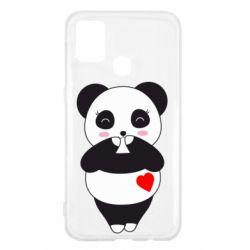 Чохол для Samsung M31 Cute panda