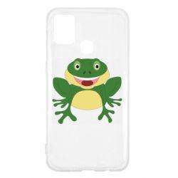 Чехол для Samsung M31 Cute toad