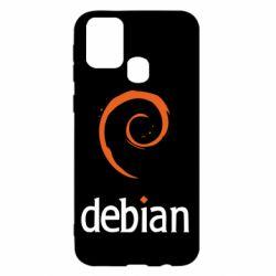 Чехол для Samsung M31 Debian