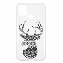Чохол для Samsung M31 Deer from the patterns