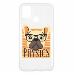 Чехол для Samsung M31 Dog Physicist