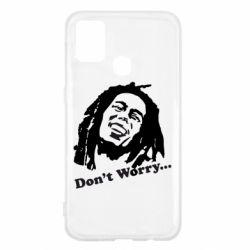 Чехол для Samsung M31 Don't Worry (Bob Marley)