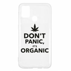 Чехол для Samsung M31 Dont panic its organic