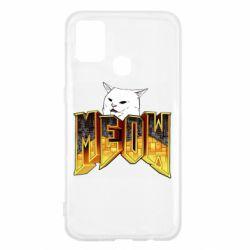 Чехол для Samsung M31 Doom меов cat