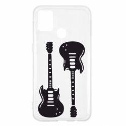 Чохол для Samsung M31 Дві гітари