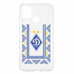 Чехол для Samsung M31 Dynamo logo and ornament