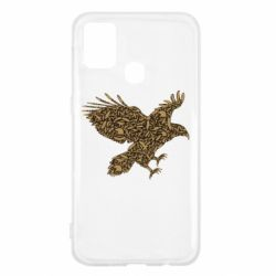 Чехол для Samsung M31 Eagle feather