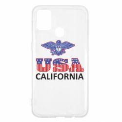 Чехол для Samsung M31 Eagle USA