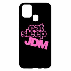 Чехол для Samsung M31 Eat sleep JDM