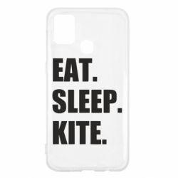 Чохол для Samsung M31 Eat, sleep, kite
