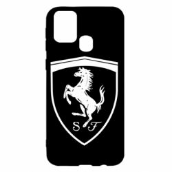 Чохол для Samsung M31 Ferrari horse