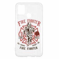 Чохол для Samsung M31 Fire Fighter