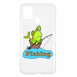 Чехол для Samsung M31 Fish Fishing
