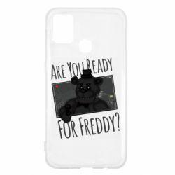 Чехол для Samsung M31 Five Nights at Freddy's 1