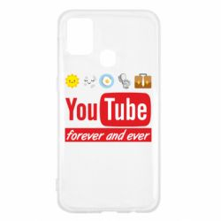 Чохол для Samsung M31 Forever and ever emoji's life youtube