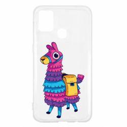 Чехол для Samsung M31 Fortnite colored llama