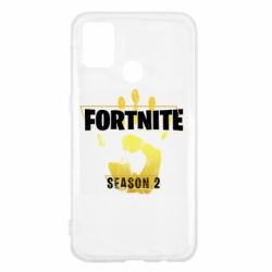 Чехол для Samsung M31 Fortnite season 2 gold
