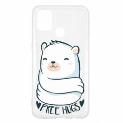 Чохол для Samsung M31 Free hugs bear