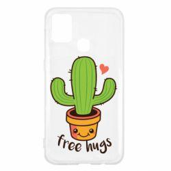 Чохол для Samsung M31 Free Hugs Cactus