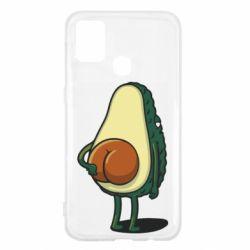 Чохол для Samsung M31 Funny avocado