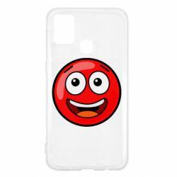 Чохол для Samsung M31 Funny Red Ball
