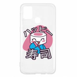 Чехол для Samsung M31 Funny sushi