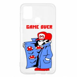 Чехол для Samsung M31 Game Over Mario