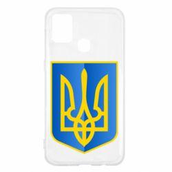 Чехол для Samsung M31 Герб України 3D