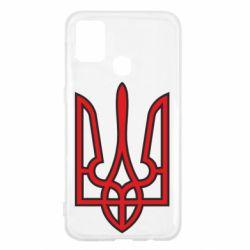 Чохол для Samsung M31 Герб України (двокольоровий)