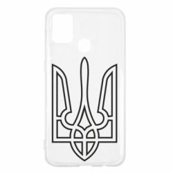 Чохол для Samsung M31 Герб України (полий)