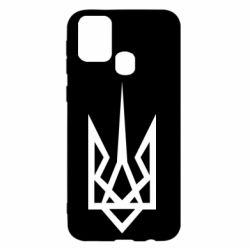Чехол для Samsung M31 Герб України загострений