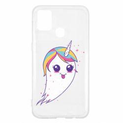Чохол для Samsung M31 Ghost Unicorn