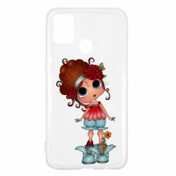 Чехол для Samsung M31 Girl with big eyes