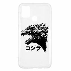 Чохол для Samsung M31 Godzilla in japanese