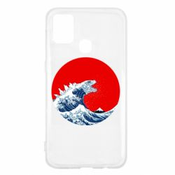 Чохол для Samsung M31 Godzilla Wave