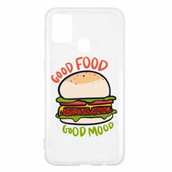 Чехол для Samsung M31 Good Food