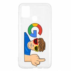 Чохол для Samsung M31 Google guy Fuck You