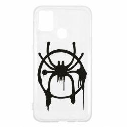 Чохол для Samsung M31 Graffiti Spider Man Logo
