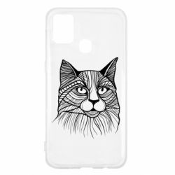 Чохол для Samsung M31 Graphic cat