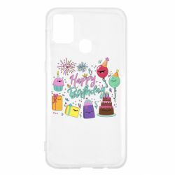 Чохол для Samsung M31 Happy Birthday