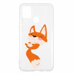Чехол для Samsung M31 Happy fox