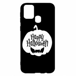 Чохол для Samsung M31 Happy halloween smile