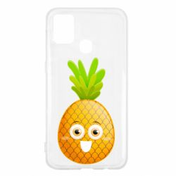 Чехол для Samsung M31 Happy pineapple