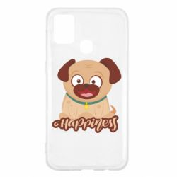 Чехол для Samsung M31 Happy pug