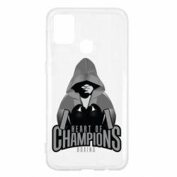 Чехол для Samsung M31 Heart of Champions