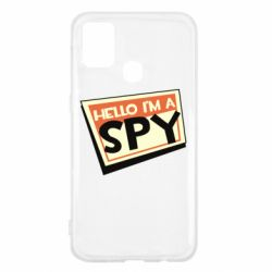 Чохол для Samsung M31 Hello i'm a spy